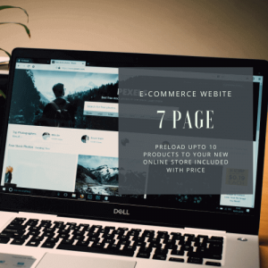 Basic E-commerce Website Design Package : Resonsive Website Design