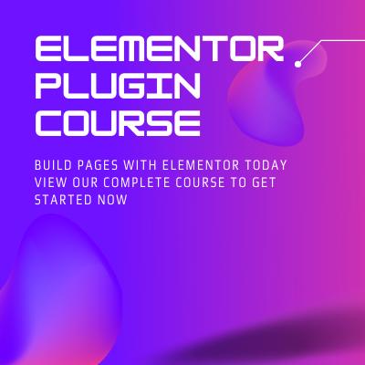 Elementor Plugin Course